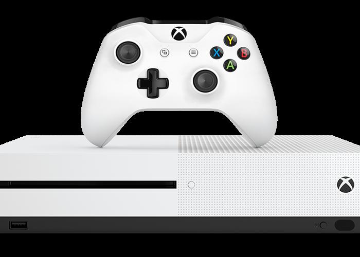 Microsoft Xbox One S - 1 TB - Robot White - 1
