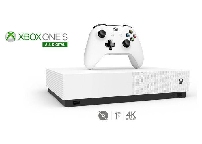 Xbox One S All Digital Edition Console & 3 Game Bundle - 2