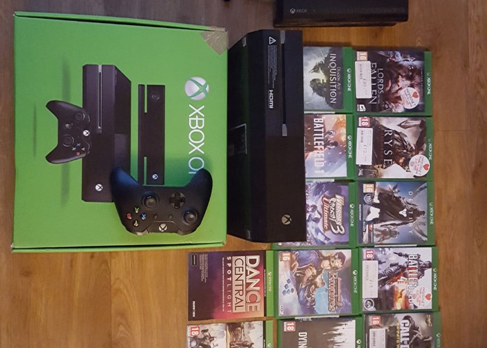 XBOX ONE with games - 1