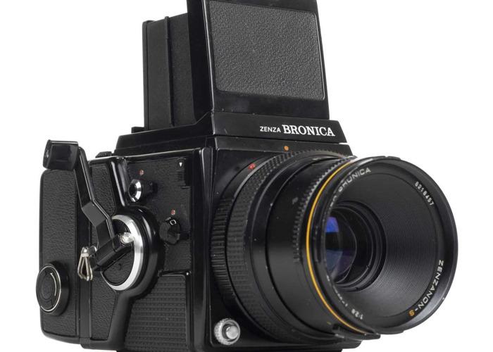 Bronica SQ-A medium format camera with 80mm f.2.8 lens - 1