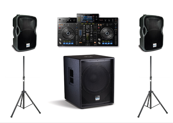 XDJ-RX, 2400W PA System - Basic DJ Package, (Delivery / collection  available) - 1
