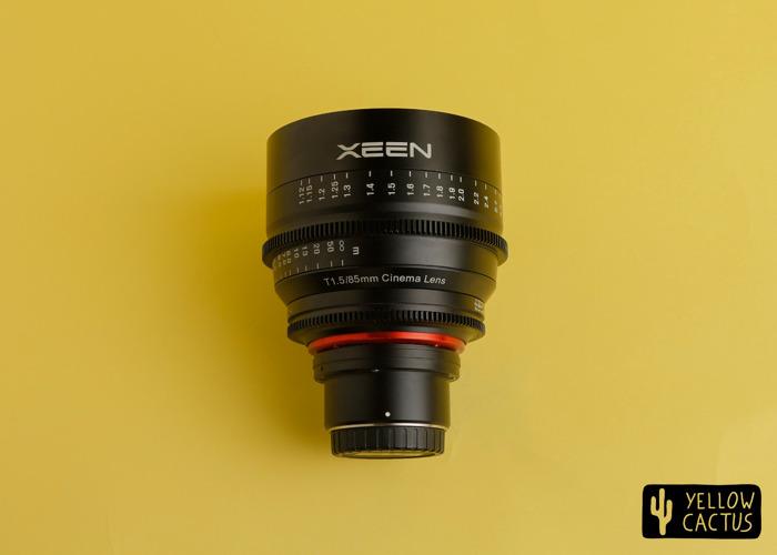Xeen 85mm 1.5t MFT Mount - Rokinon Samyang Cine Prime Lens - 1