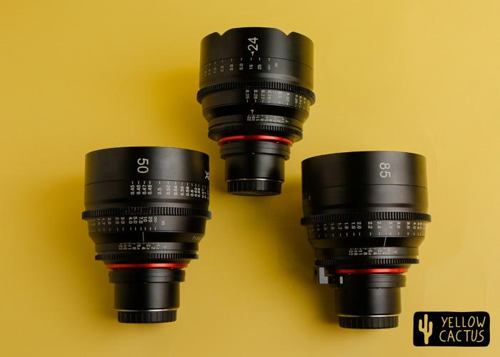 Xeen Bundle 24mm + 50mm + 85mm MFT Mount / Cine Prime - 1