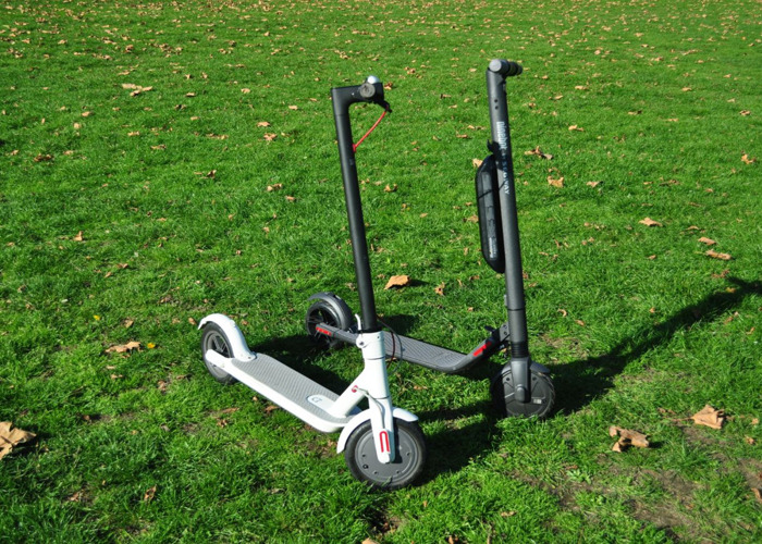 Rent Xiaomi M365 and Ninebot Segway ES2 scooter in London