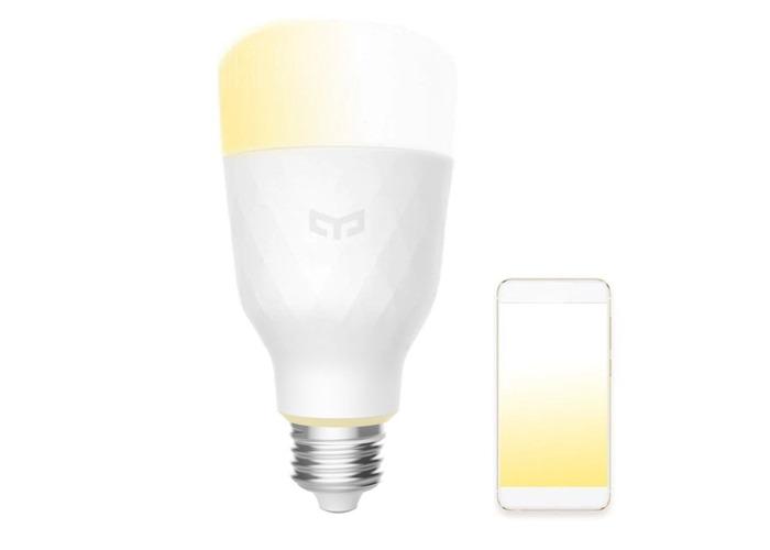 Xiaomi Yeelight YLDP05YL E27 10W Warm White to Daywhite Smart LED Bulb Wifi App Control AC100-240V - 1