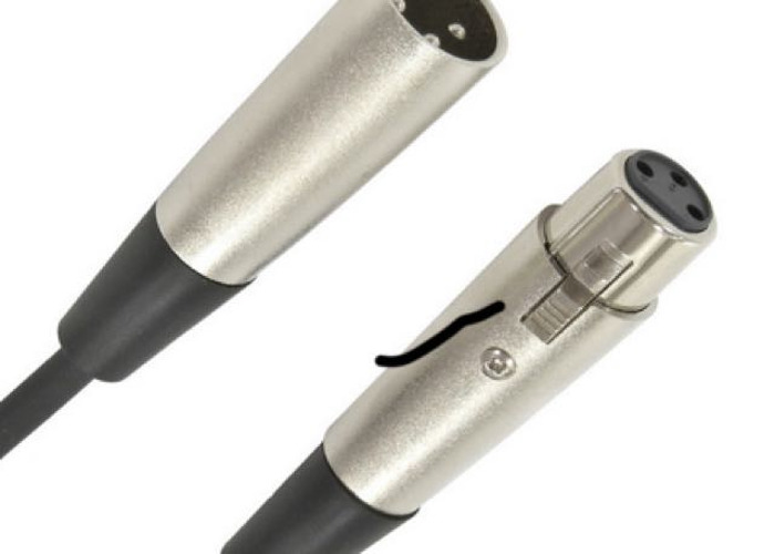 XLR cable  - 2
