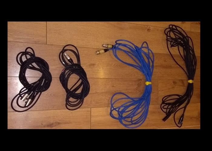 XLR cables - see description - 1