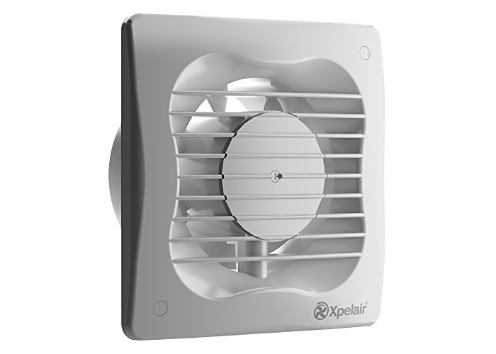 Xpelair 93224AW 4-Inch Standard Bathroom Ventilation Wall/Ceiling Extractor Fan - White - 1