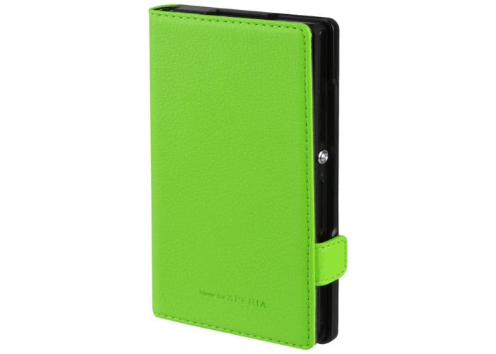 Xperia Flip Case for Sony Z - Green - 2