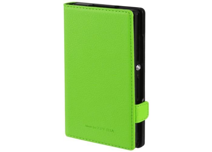 Xperia Flip Case for Sony Z - Green - 1