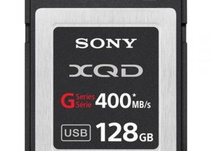 XQD 128 GB Sony memory cards x2 - 1