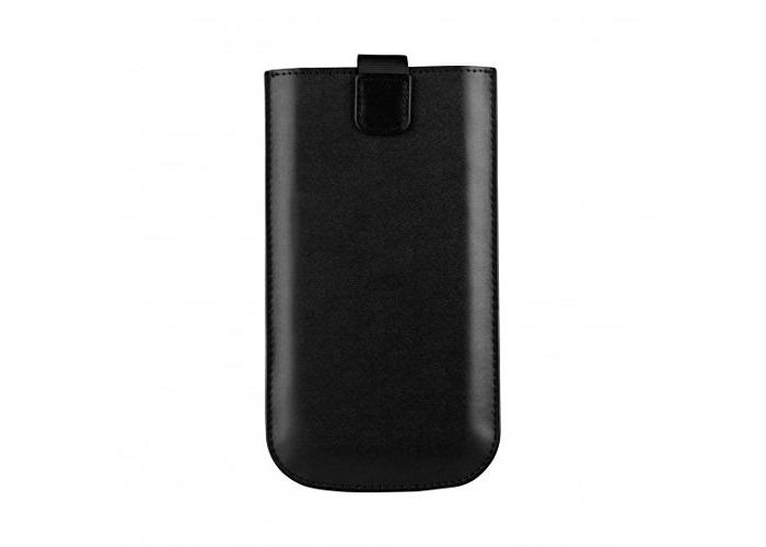 XQISIT 21590 XL Universal Pu leather pouch - Black - 1