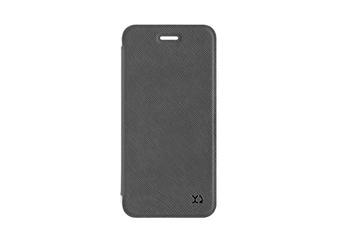 Xqisit Flap Adour Wallet Protective Case For Apple iPhone 7 Stone Brown - 1