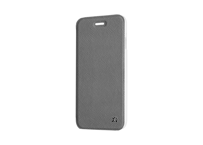 Xqisit Flap Adour Wallet Protective Case For Apple iPhone 7 Stone Brown - 2