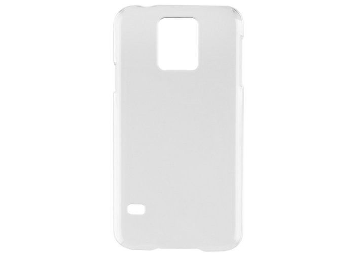 Xqisit iPlate Glossy Case for Galaxy S5 - Transparent - 2