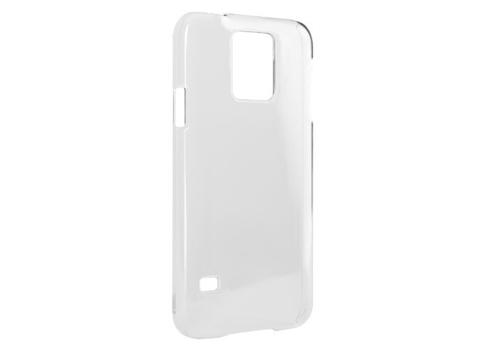 Xqisit iPlate Glossy Case for Galaxy S5 - Transparent - 1