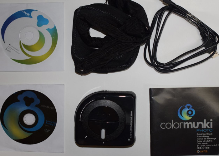 Rent X-Rite Colormunki Photo - Color Checker Full Calibration Kit in  Dunsford