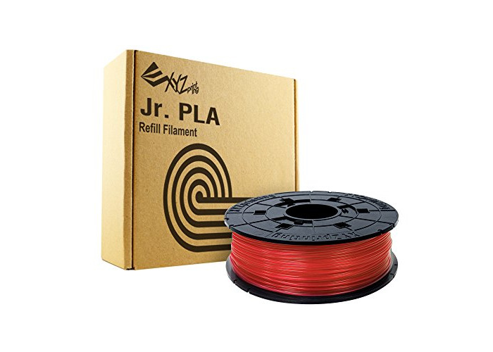 XYZprinting Da Vinci Junior / Mini PLA  - 600g - Clear Red - 1