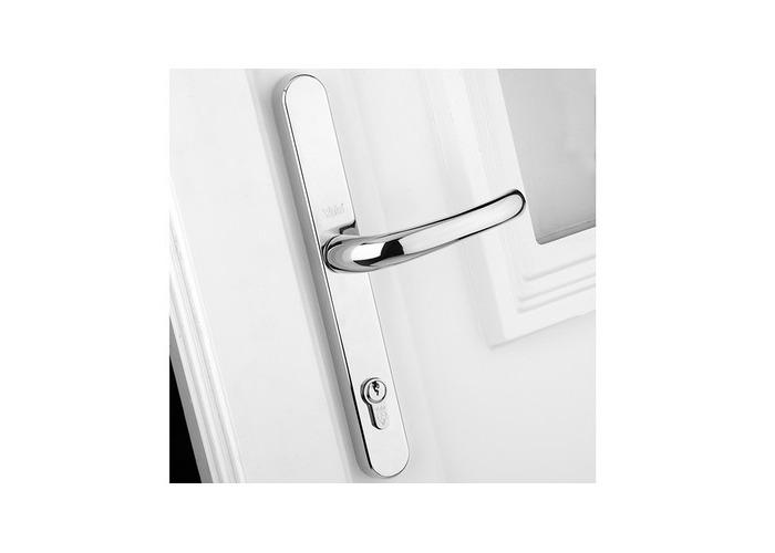 Yale Locks P-PVC-RH-PC Retro Door Handle uPVC Polished Chrome Finish - 1