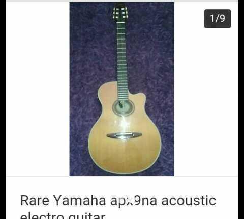 Yamaha APX9na electro acoustic guitar - 1