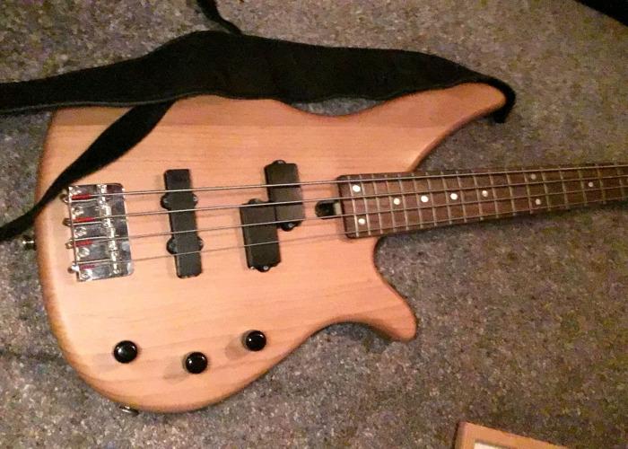 Yamaha Bass Guitar & Case - 1
