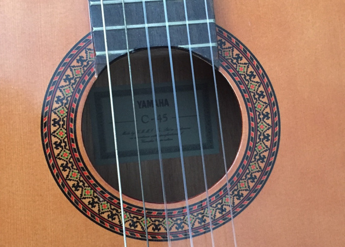 Yamaha classic guitar - 2