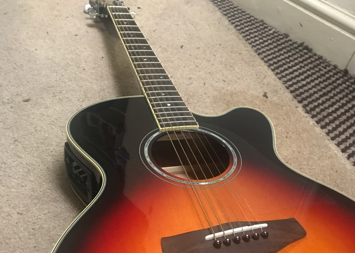 Yamaha CPX500 Electro Acoustic Guitar  - 1