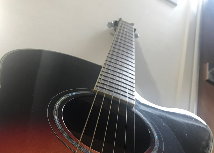 Yamaha CPX500 Electro Acoustic Guitar  - 2