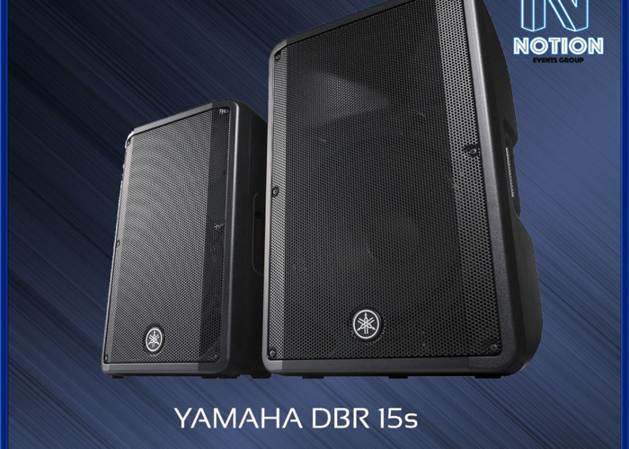 "Yamaha DBR 15"" Self Powered Speakers - 1"