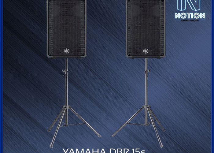 "Yamaha DBR 15"" Self Powered Speakers - 2"