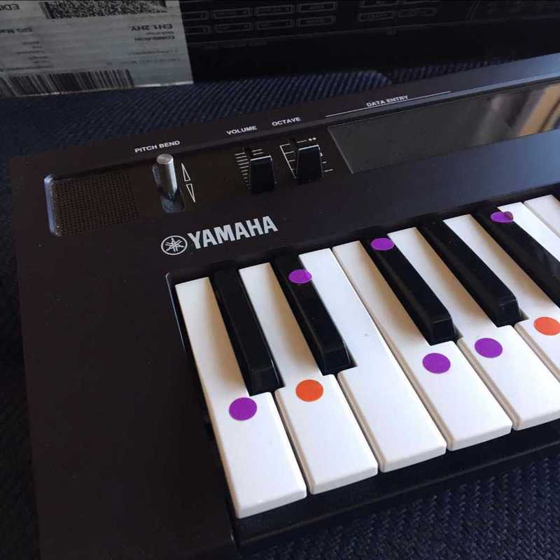 Yamaha DX Reface Synthesiser Keyboard - 1