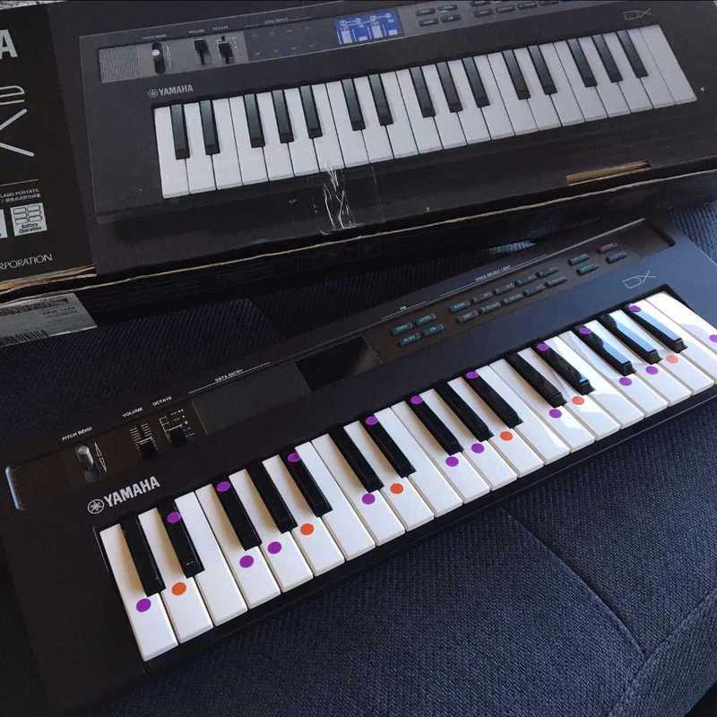 Yamaha DX Reface Synthesiser Keyboard - 2