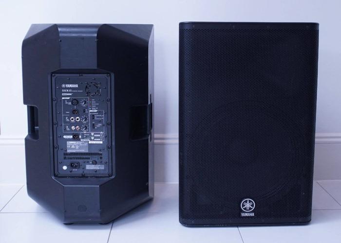 Yamaha DXR 15 PA System Speakers - 2