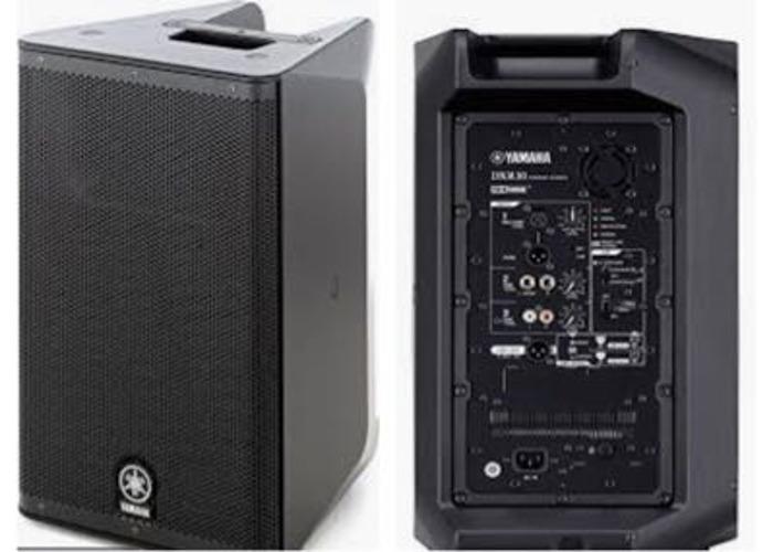 Yamaha DXR10 Active Speakers - 1