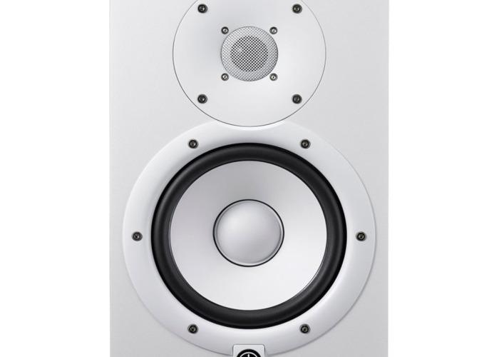 Yamaha HS7 Active Studio Monitor White - 1