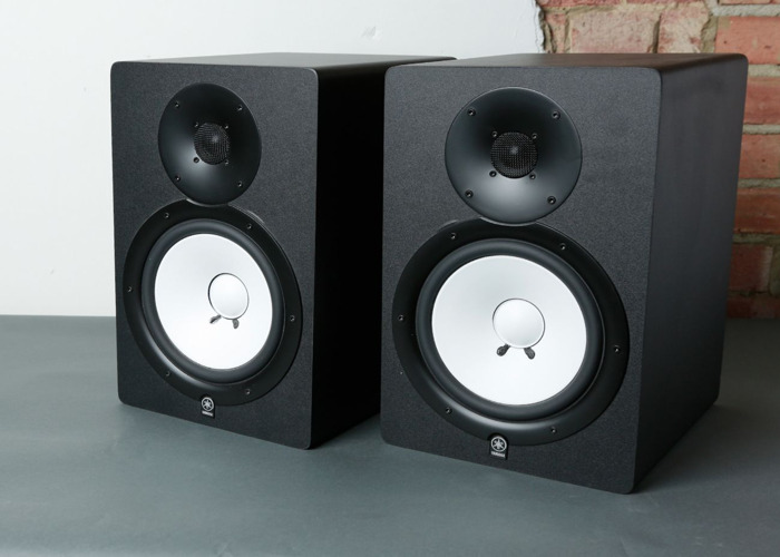 Yamaha HS80m with Stands (Pair) Studio Monitor Speakers - 2