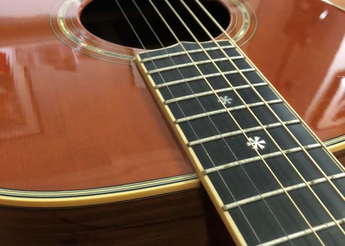 Yamaha LA-8 1997 Custom Shop Acoustic Guitar - 2