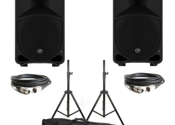 "Yamaha MG16XU Mixing Desk + Mackie TH15A Thump 15"" PA Speake - 2"