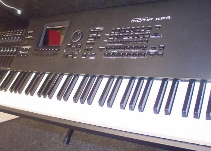 Rent Yamaha Motif XF8 Keyboard in Leeds | Fat Llama