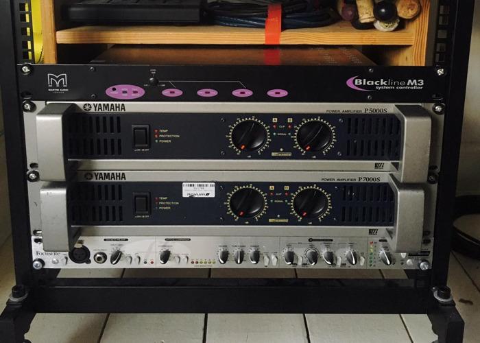 YAMAHA P5000S POWER AMPLIFIER - 1