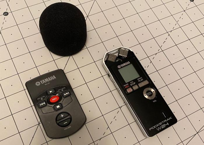 Yamaha POCKETRAK W24 pocket stereo recorder - 1