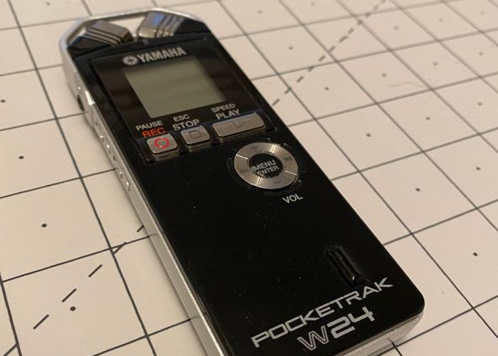 Yamaha POCKETRAK W24 pocket stereo recorder - 2