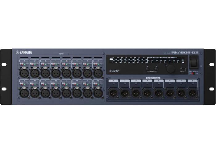 Yamaha RIO1608-D2 Digital Stagebox - 1