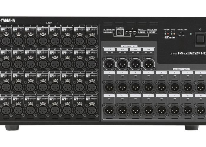 Yamaha RIO3224-D Digital Stagebox - 1