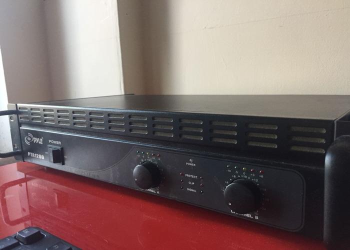 Yamaha Speakers + Mixer Zmx862 - 2