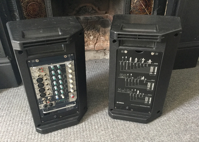 Yamaha Stagepas 300 Portable PA System - 2