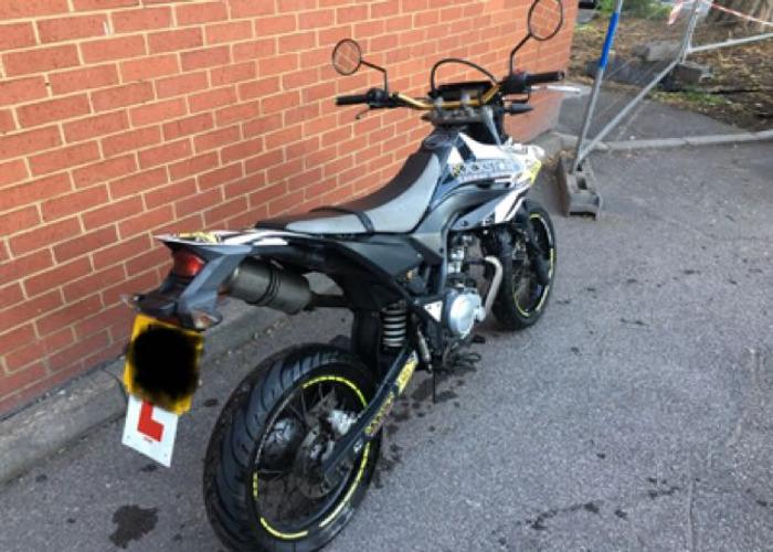 Yamaha WR125 x - 2