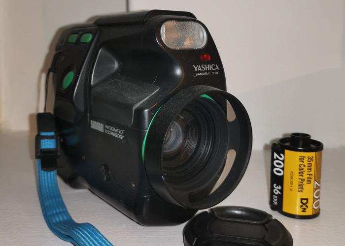 Yashica Samurai 35mm Half Frame Camera - 1