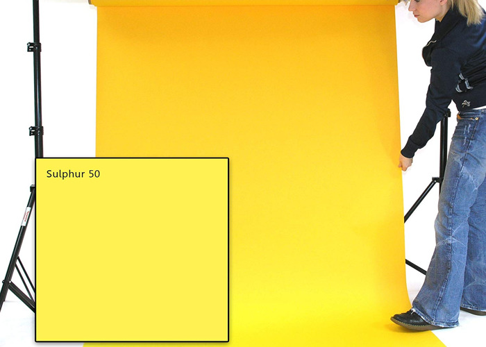 Yellow backdrop - 1