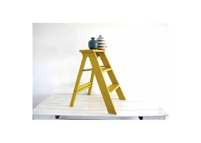 Yellow ladder - 1